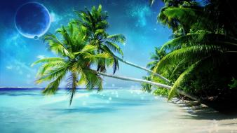 Animated beach pictures wallpaper