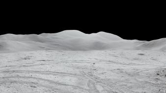 Apollo moon landing multiscreen wallpaper