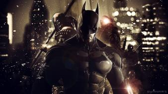 Batman arkham origins background Wallpaper