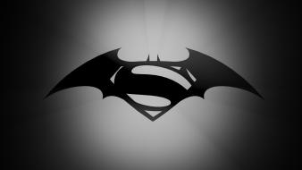 Batman vs superman logo Wallpaper
