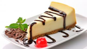 Cakes cheesecake food wallpaper