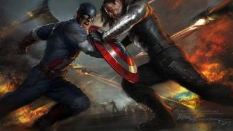 Captain america the winter soldier movie wallpaper