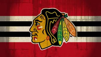 Chicago blackhawks nhl ice hockey logos sports wallpaper
