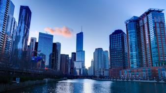 Chicago cities cityscapes Wallpaper