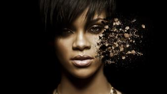 Chris brown rihanna black people celebrity punch wallpaper