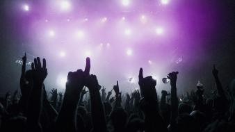 Club concert lights live music Wallpaper