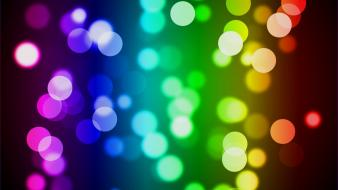 Colorful bokeh background wallpaper