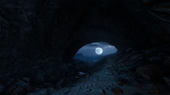 Dear esther moon source engine beaches caves Wallpaper