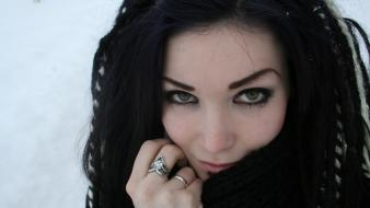 Deviantart gothic moar winter twiggx wallpaper