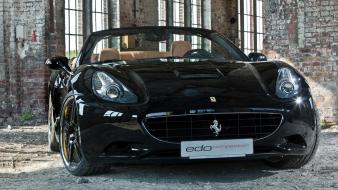 Edo competition ferrari california black cars static wallpaper