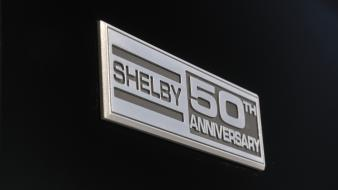 Ford mustang shelby gt350 gt anniversary emblems Wallpaper