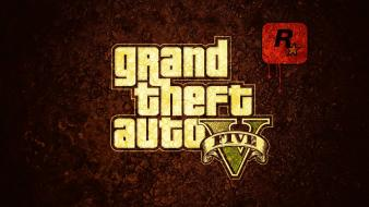 Gta 5 logo wallpaper