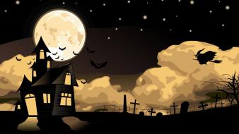 Halloween cartoon wallpaper