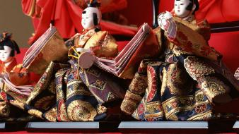 Hinamatsuri japan japanese traditions views toys (children) Wallpaper
