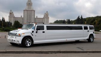 Hummer stretch cars limousines vehicles Wallpaper