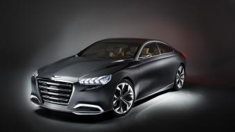 Hyundai cars concept genesis studio wallpaper