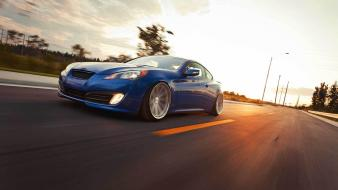 Hyundai genesis coupe cars roads tuning wallpaper