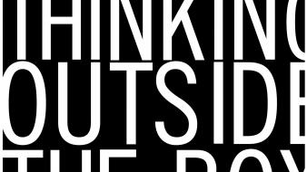 Inspiration black and white thinking typography wallpaper