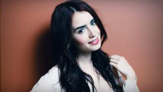 Lily collins pictures wallpaper