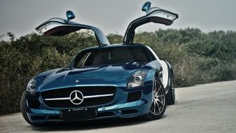 Mercedes sls amg cars tuning Wallpaper