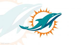 Miami dolphins logo wallpaper