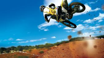 Motocross jumps wallpaper