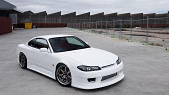 Nissan silvia s15 cars tuning white wallpaper
