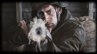 Saving private ryan firearms guns military sniper wallpaper