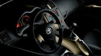 Toyota car interiors cars steering wheel wallpaper