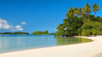 Tropical beach nature Wallpaper