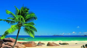 Tropical beach pictures Wallpaper