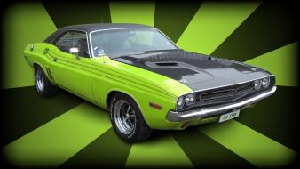 70s dodge challenger funk muscle cars wallpaper
