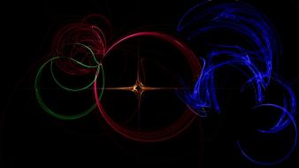 Abstract backgrounds circles colors digital art wallpaper