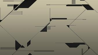Abstract design electronic lines Wallpaper