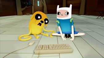 Adventure time with finn and jake wallpaper