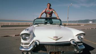 Arnold schwarzenegger cadillac california actors cabriolet wallpaper
