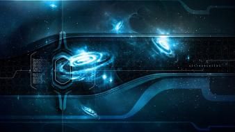Artistic artwork digital art futuristic outer space Wallpaper
