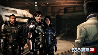 Ashley williams cgi commander shepard femshep james vega wallpaper