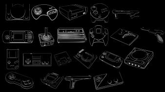Atari commodore 64 dreamcast gamer megadrive wallpaper