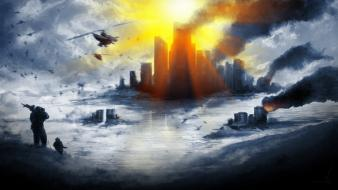 Battlefield 4 cityscapes fps video games war Wallpaper