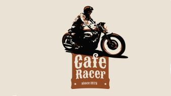 Bikers cafe racer engines motorbikes motor racing Wallpaper