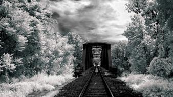 Black and white photography wallpaper