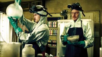 Breaking bad tv series cooking glasses meth wallpaper