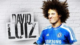 Chelsea fc david luiz football players soccer Wallpaper
