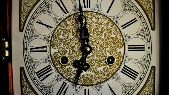 Clocks grandfather clock roman numerals wallpaper