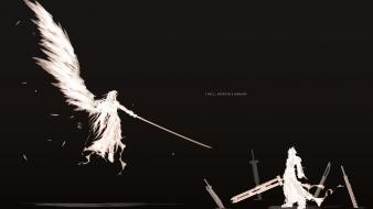 Cloud strife final fantasy sephiroth quotes wallpaper