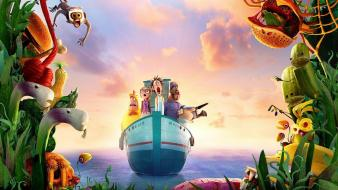 Cloudy with a chance of meatballs movies wallpaper