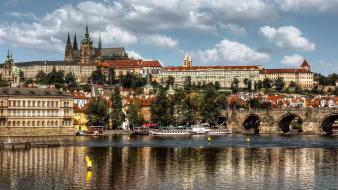 Czech republic prague cityscapes wallpaper