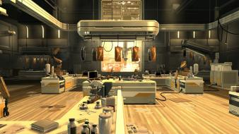 Deus ex human revolution screenshots video games wallpaper