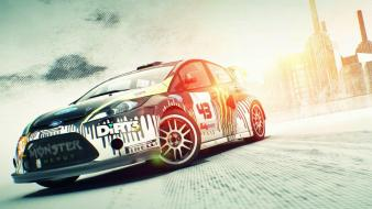Dirt 3 cars games monsters rally Wallpaper